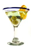 martini d'isolement par glace Photos stock