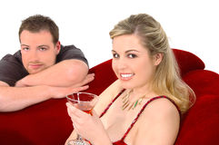 martini deltagare arkivfoto
