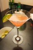 Martini dentellare su una barra Immagini Stock Libere da Diritti