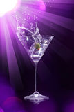 Martini drink Stock Photos
