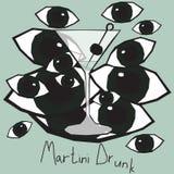 Martini Drunk Stock Images