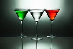 Martini e Cosmopolitans Immagine Stock