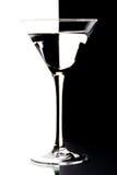 Martini in einem Glas Lizenzfreies Stockbild