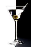 Martini en un vidrio Fotos de archivo libres de regalías