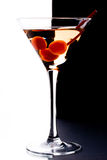 Martini en un vidrio Imagen de archivo