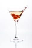 Martini en un vidrio foto de archivo