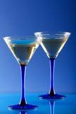 martini en verre image libre de droits