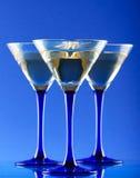 martini en verre Photo libre de droits