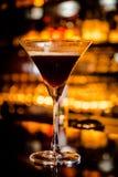 Martini espresso Fotografering för Bildbyråer