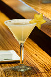 Martini för stjärnafrukt coctail Arkivfoton
