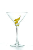 Martini garnish Stock Photos