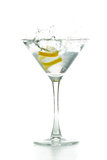 Martini garnish Stock Images