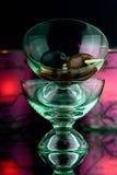 Martini gerüttelt lizenzfreie stockfotografie