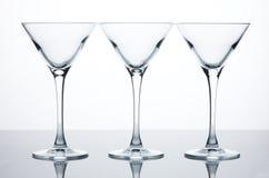 Martini-Gläser Lizenzfreie Stockfotos