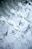 Martini-Gläser Lizenzfreie Stockbilder