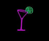 Martini-Glas Stockfotos