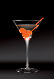 Martini-Glas Lizenzfreie Abbildung