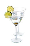 Martini glass Stock Photo