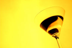 Martini glass 2 Royalty Free Stock Images