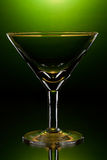 Martini glass Royalty Free Stock Photography