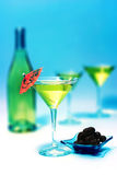Martini glass royalty free stock photos