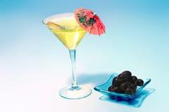Martini glass stock image