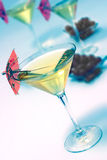 Martini glass Royalty Free Stock Images