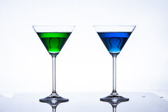 Martini glass Stock Photos