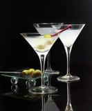 Martini glasses Stock Image