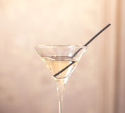 Martini glasses Royalty Free Stock Image