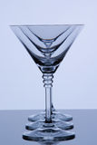 Martini glasses Stock Photos