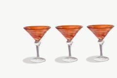 Martini glasses and shaker Stock Photo