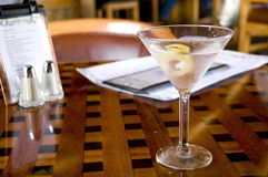 Martini at Happy Hour Stock Image