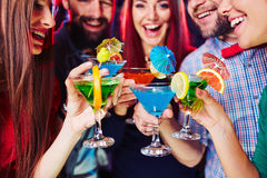 Martini hysteria Stock Images
