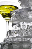 Martini with  ice Royalty Free Stock Photo