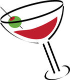 Martini Illustration Royalty Free Stock Photography