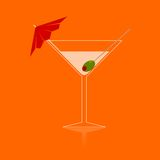 Martini - Illustration Royalty Free Stock Photos