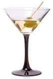 Martini koktajl i szkło Obrazy Stock