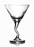 Martini koktajlu szkło Obrazy Royalty Free