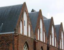 Martini kyrka i Groningen Och gjort denna liten stadkänselförnimmelse ett stor större Royaltyfria Foton