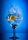 martini ' last splash ' Fotografia Royalty Free
