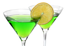 Martini and lime Stock Photos