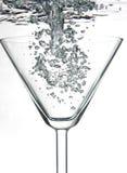 Martini lleno Fotografía de archivo