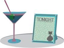Martini Lounge Stock Image