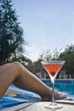 Martini na associação Imagens de Stock Royalty Free