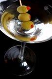 Martini noir Images libres de droits