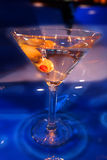 MARTINI WITH OLIVES royalty free stock photo