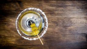 martini olivgrön Royaltyfri Fotografi