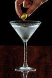Martini oliwka Obrazy Royalty Free