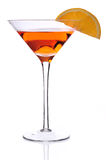 martini orange Arkivfoton